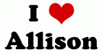 I Love Allison