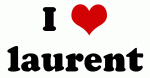 I Love laurent
