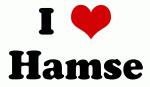 I Love Hamse