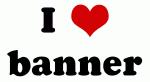I Love banner