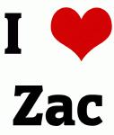 I Love Zac