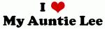 I Love My Auntie Lee
