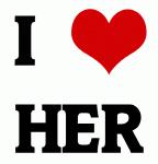 I Love HER
