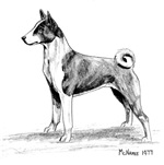 Basenji items with this design