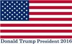 Donald Trump 2016 Flag