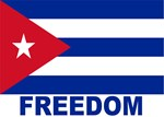 Cuba Flag Freedom