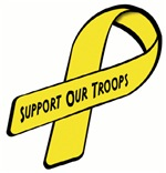 Yellow Ribbon Support our Troops