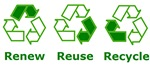 renew reuse recycle