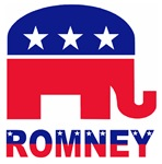 Romney stars and stripes