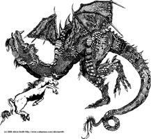 Dragon & Unicorn fight to the death!