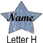Blue Star names - Letter H