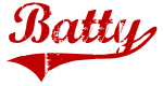 Batty (red vintage)