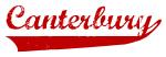 Canterbury (red vintage)
