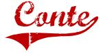 Conte (red vintage)