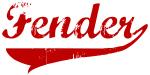 Fender (red vintage)