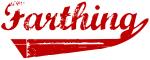 Farthing (red vintage)