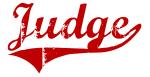 Judge (red vintage)