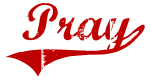 Pray (red vintage)