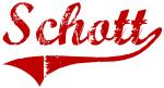 Schott (red vintage)