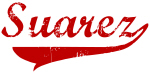 Suarez (red vintage)