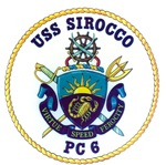 USS Sirocco PC-6 Navy Ship