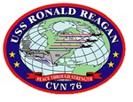 USS Ronald Regan CVN-76 Navy Ship