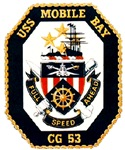 USS Mobile Bay CG-53 Navy Ship