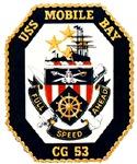USS Mobile Bay CG-53 Navy Ship