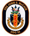 USS John McCain DDG-56 Navy Ship