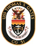 USS Thomas S. Gates CG 51 US Navy Ship