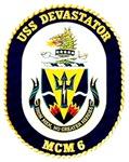 USS Devastator MCM 6 USS Navy Ship