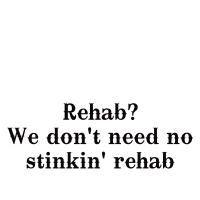 Stinkin' rehab