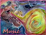 Music! Fun art!