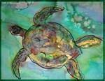 Sea Turtle, nature art,