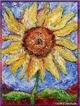 Sunflower! Flower art!