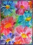 Flower! colorful floral art!