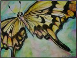 Swallowtail butterfly, nature art!