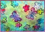 Butterflies, Flowers! Art!