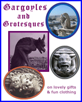 GARGOYLES ON T-SHIRTS & GIFTS