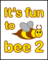 IT'S FUN TO BEE 2 TEES