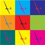 Gliding Pop Art