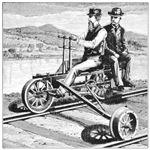 Vintage Handcar
