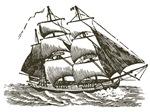 Vintage Sail Ship