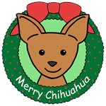 Chihuahua Christmas Ornaments