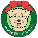 Glen of Imaal Terrier Christmas Ornaments