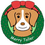 Nova Scotia Duck Tolling Retriever Ornaments