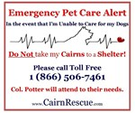 Emergency Cairn Alert