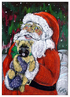 Santa and Me Cairn