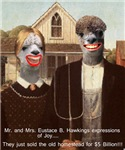 Mr. and Mrs Eustace B. Hawkings expressions of Joy