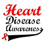 Heart Disease Awareness Grunge T-Shirts